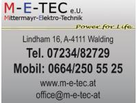 M-E-TEC e.U. Mittermayr - Elektrotechnik - Alarmanlagen