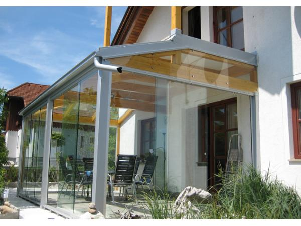 Schachner Wintergarten Terrassenverglasung