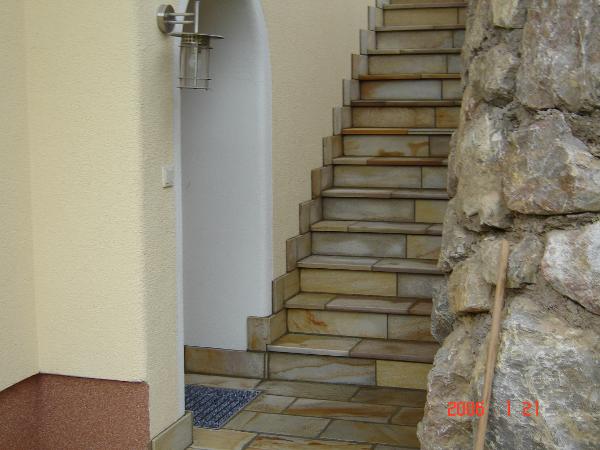 Solimar Quarzit Stufen