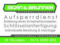 24 h AUFSPERR- & SCHLÜSSELDIENST Sigan & Brunner