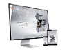 Thumbnail - Webportal mit Produkt Konfigurator & Corporate Design für Qness Härteprüfung