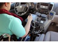 Autofahren mit Joystick - Innen