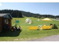 Zorbing in Flachau