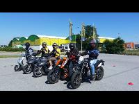 Motorrad- & Mopedausbildung auf unserem Verkehrsübungsplatz