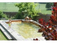 Natürlicher Badespaß im Holc-Naturpool