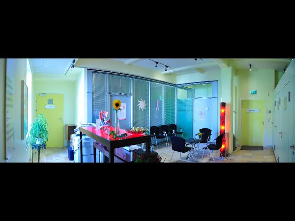 Wartebereich Mammographie / Ultraschall