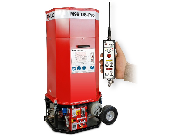 Minifant M99 DS PRO - kompakte Profi Dämmstoff-Einblasmaschine