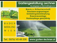 Gartengestaltung Lechner – Bewässerungsanlagen