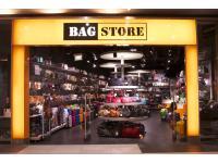 Bag Store's Eingangsbereich