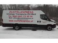 Zustellexpress Umzüge Möbeltransporte EU-Weit