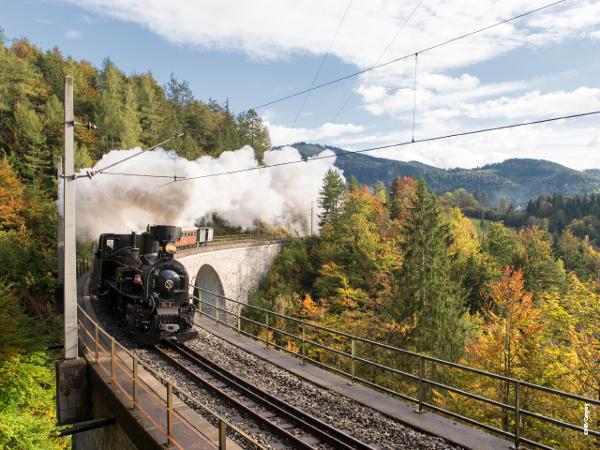 Vorschau - Mariazellerbahn - Dampfzug