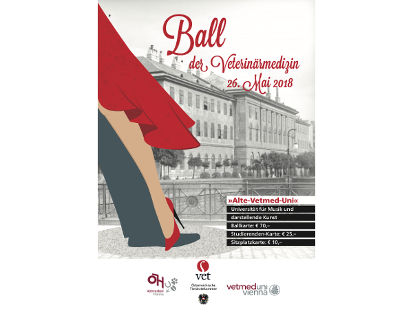 Poster Ball der Veterniärmedizin
