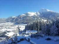 Blick aufs Kitzbüheler Horn im Winter