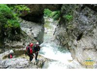 Canyoning - das Highlight des Sommers mit Motion Outdoor Center