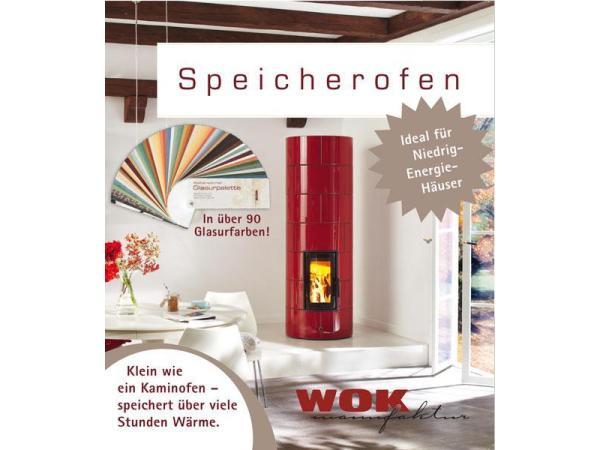 Vorschau - Stilvolles Heizmöbel - der WOK Speicherofen