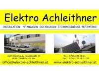 Achleithner Elektroinstallationen - Elektrohandel