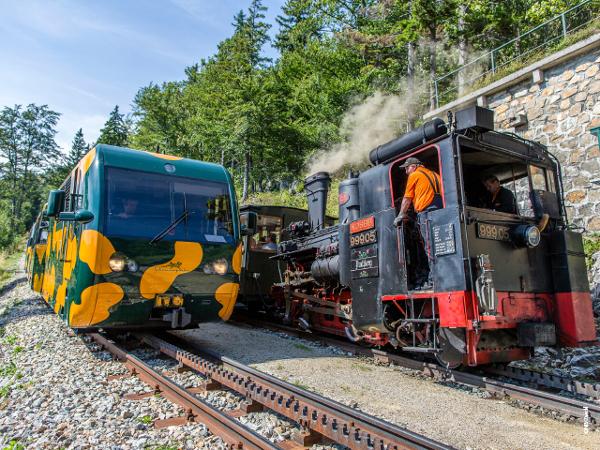 Vorschau - Schneebergbahn - Dampfzug