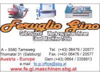 Feruglio Gebrauchte Werkzeugmaschinen