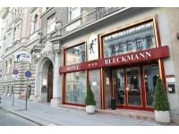 Eingang Hotel-Pension Bleckmann