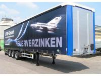 LKW Plane (Digitaldruck incl. Schutzlack 13x3 Meter)