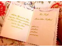 handgeschriebene Taufbriefe