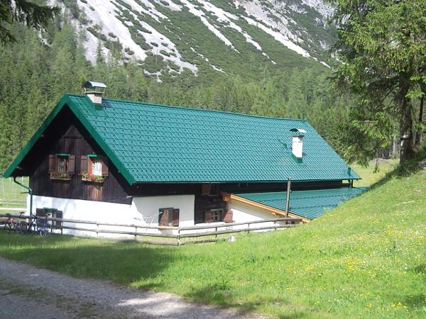 Vorschau - Prefa Dach moosgrün