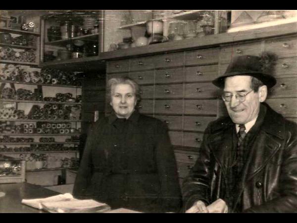 Urgroßvater Franz Xaver Oppel & Urgroßmutter Josefa Oppel