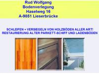 Rud Wolfgang Bodenverlegung,Schleifen,Versiegeln