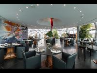 Restaurant Ikarus, Innenansicht