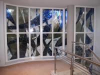 Fenster mit Bleiverglasung der neuen Art