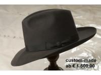 handgefertigter Herrenhut - dieses Modell ab €1500,00