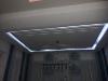 Abhängedecke mit indirekter Beleuchtung