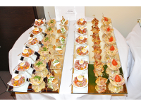 Catering und Buffets.