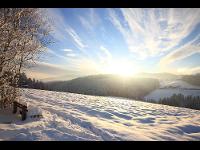 Winterlandschaft Waisenegg Joglland