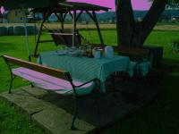 Frühstück im Garten!