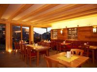 Restaurant mit Blick auf Filzmoos