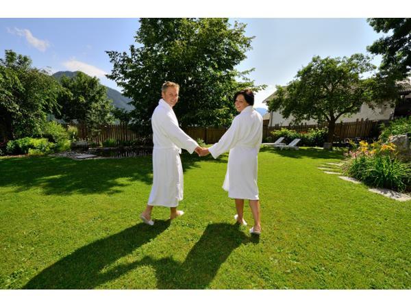 Wellness im Garten - Vital-Landhotel Pfleger