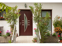 Haustüren aus Kunststoff oder Aluminium