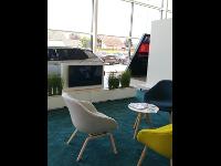 Unsere Citroen-Lounge.