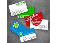 Visitenkarten TECTUM GmbH, Lusthaus Hohenems, APlus Haustechnik