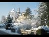 Kirche von Altmünster im Wintermantel