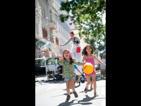 Straßenfest Wien Fotografie