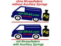 Niveauregulierungsfedern, Luftfedern, PKW, 4x4, Van