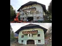 Fassade Vorher / Nachher