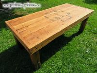 Rammstein Massivholztisch der Tischlerei Fuhrmann