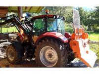 Traktor Case Farmall mit Tiger Dreipunkt Doppelwinde 2x8t