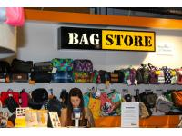 Kassenbereich im Bag Store Murpark