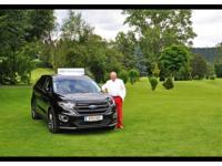 Der neue Ford Edge am GC Moosburg