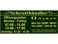 Schrotthändler O. Saban