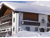 Pension Sabine mitten im Skigebiet...